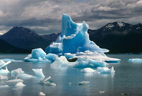 Z výstavy Život před objektivem - ledovce