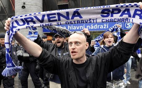 Baníkovci v Praze (4. května 2009)