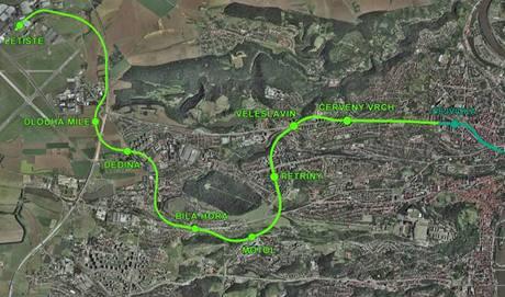 Prodloužení trasy A pražského metra. Úsek ke stanici Motol by měl být hotový do roku 2013