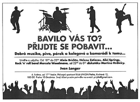 Ivan Langer - pozvánka na koncert
