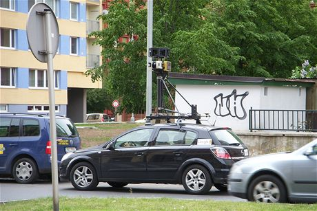 Auta Googlu fotí Prahu pro Street View