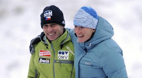 Kamila Rajdlová a David Jiroutek