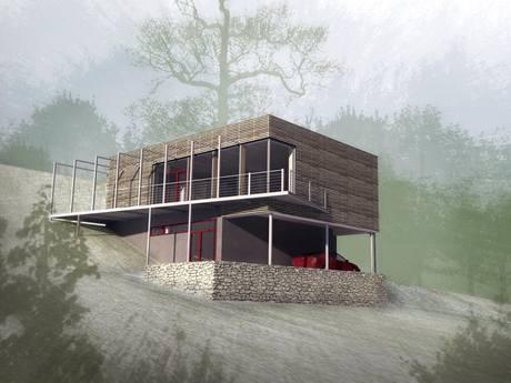 Hana Urbášková, energeticky šetrný dům - dřevostavba