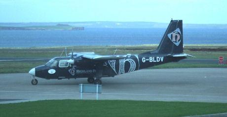Britten-Norman Islander společnosti Loganair