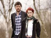 Steve Wall a Lucie Redlová