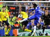 Chelsea - Barcelona: g�lov� n�p�ah Michaela Essiena.