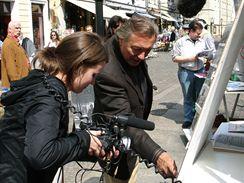 Z dokumentu Fenomén Gott - Berlín (duben 2008)