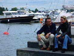 Z dokumentu Fenomén Gott - Helsinki: s dcerou Dominikou (červenec 2008)