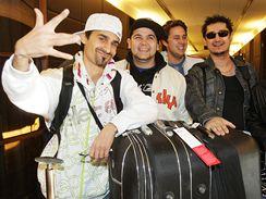 Eurosong 2009 - Gipsy.cz při odletu do Moskvy
