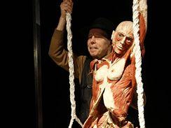 Z výstavy Body Worlds (profesor anatomie Gunther von Hagens)