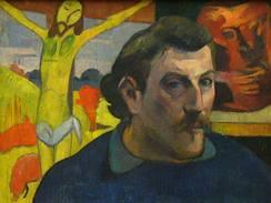 Paul Gauguin: Autoportrét se Žlutým Kristem (1889)