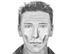 Identikit lupiče, který v supermarketu v Praze 9 zbil černého šerifa.