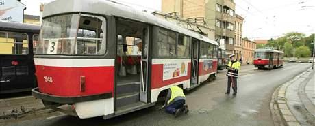 Srážka tramvají v Brně