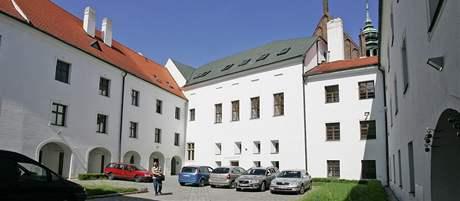 Augustiniánském opatství na Mendelově náměstí v Brně