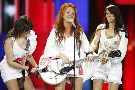 Eurosong 2009 - Susanne Georgiová (Andorra)