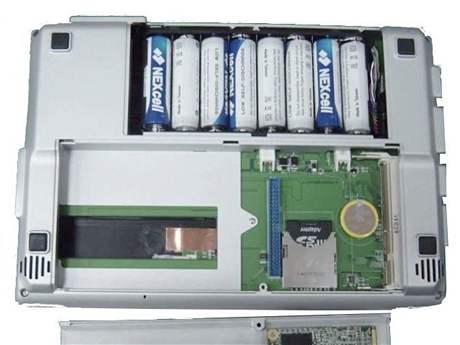 Notebook na AA baterie