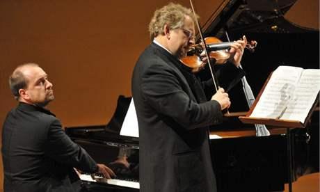 Petr Jiříkovský a Shlomo Mintz (Pražské jaro, 16. 5. 2009)