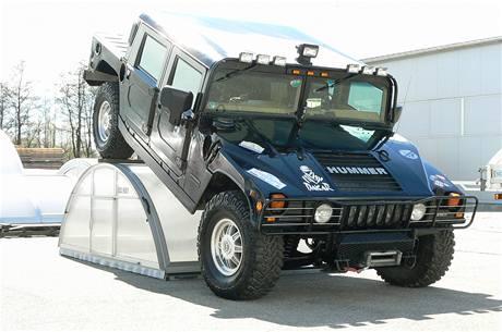 Modrý Hummer