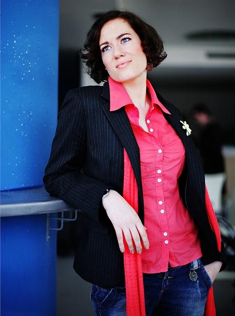 Herečka Michala Slavíková - obchodní ředitelka Divadla Milenium
