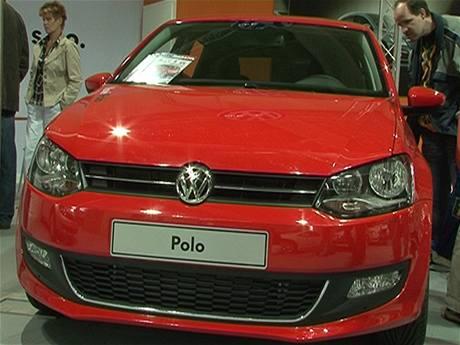 Nový VW Polo na autovýstavě Tempo v Litoměřicích