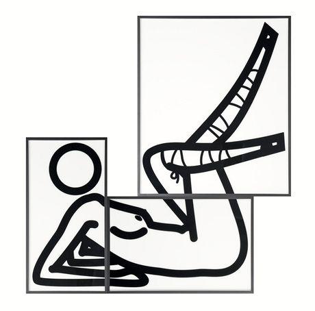 Z expozice Julian Opie: Julian Opie - This is Shanoza in 3 parts, 09