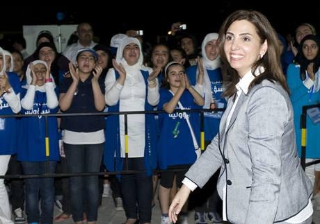 Kandidátka parlamentních voleb v Kuvajtu Roula Dashtiová