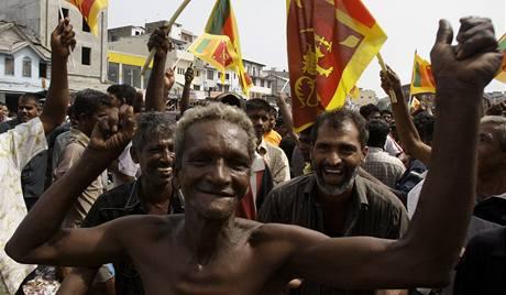 Tamilští Tygři se vzdali, boje na Srí Lance po čtvrtstoletí končí