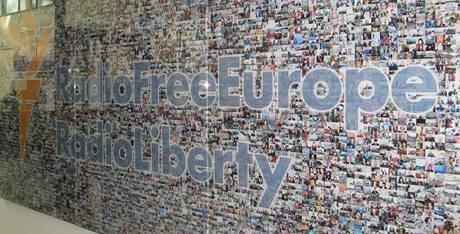 Vstupní hala nové budovy Rádia Svobodná Evropa
