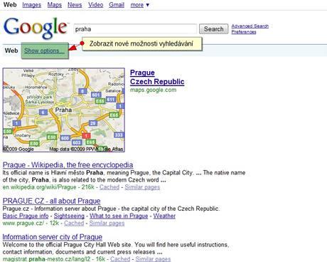 Google nové funkce