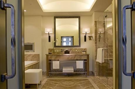 Koupelny mají rozměry i menšího pokoje