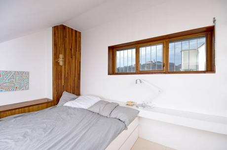 Výhled z ložnice na Špilberk