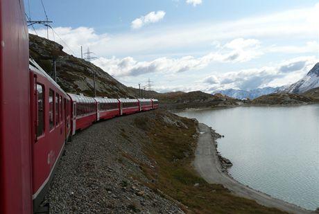 Švýcarsko, Bernina expres
