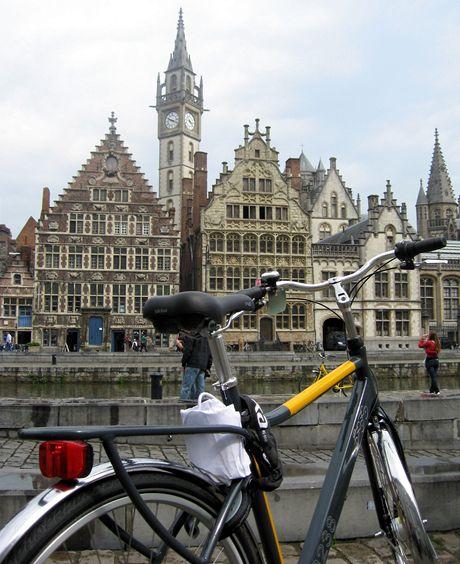 Belgie, Gent - ráj cyklistů