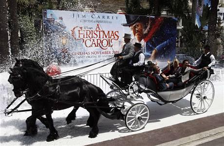 Cannes 2009 - Jim Carrey v kočáře