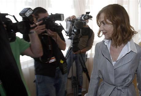 Cannes 2009 - Isabelle Huppertová