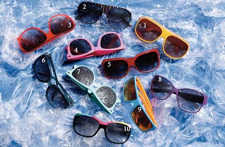 Sluneční brýle na letošní léto