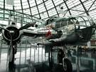 Rakousko, Salcburk, Hangar 7 - Bombardér B-25 Mitchell, jeden z jeho sourozenců bombardoval v roce 1942 Tokio