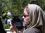 Roxana Saberiová na snímku z roku 2003 v Teheránu.