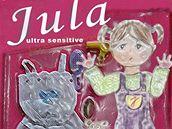 Malá Jula je jen doma - ukázka z Kocábova slabikáře, který je součástí kampaně proti týrání dětí
