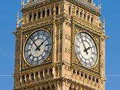 Proslulá věž Big Ben.