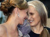 Režisérka Jane Campionová a herečka Abbie Cornishová v Cannes 2009