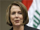 Šéfka americké Sněmovny reprezentantů Nancy Pelosiová