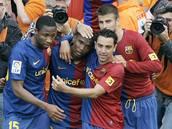 Barcelona - Villarreal: domácí se radují z gólu