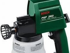 Elektrická stříkací pistole se půjčuje za 200 až 280 Kč, záloha činí 2000 Kč