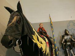 Výstava v Dětském muzeu: Expedice středověk