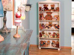 Sbírka medvídků se neustále doplňuje