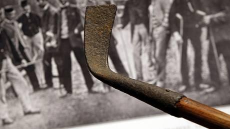 historická golfová hůl
