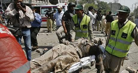Pákistánským Láhaurem otřásla exploze. Zabila zřejmě desítky lidí, přes sto lidí zranila. (27. května 2009)