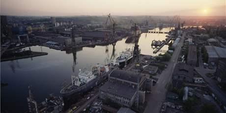 Loděnice v Gdaňsku