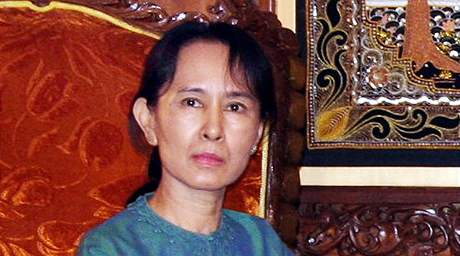 Barmská disidentka Su Ťij